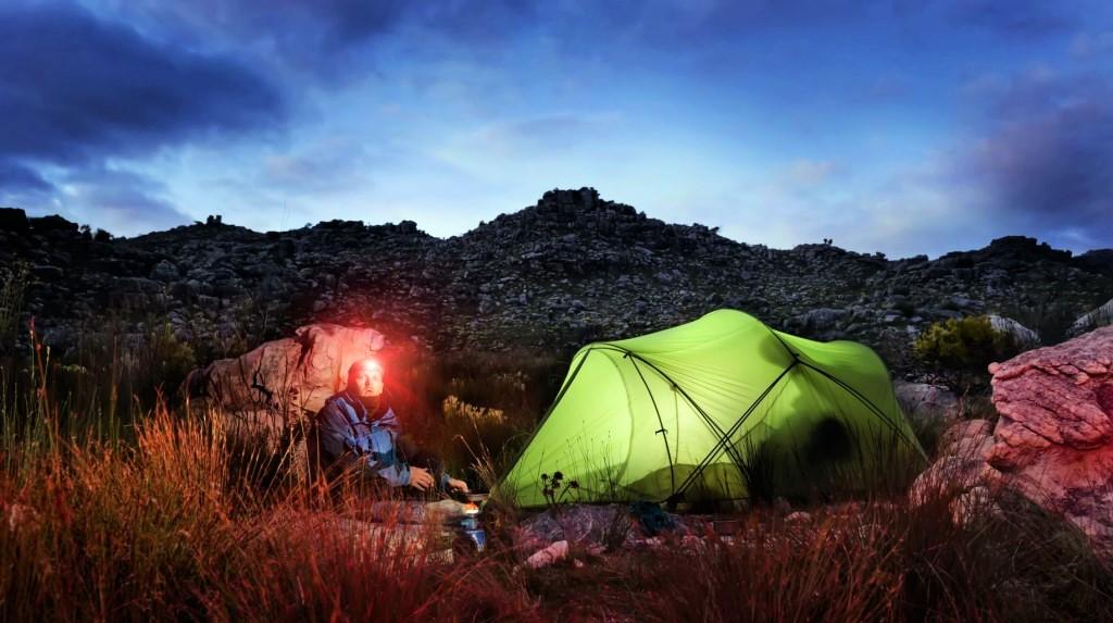 camping headlamp