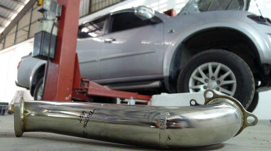 Mitsubishi Triton Exhaust