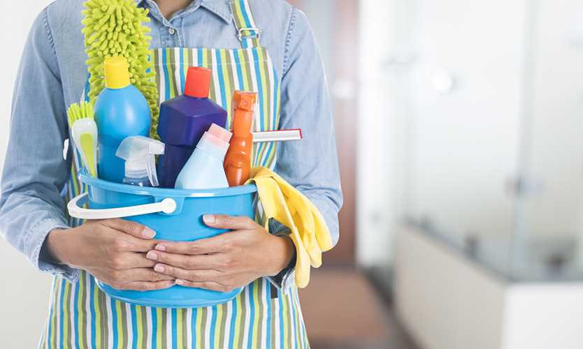 Cleaning Materials And Supplies