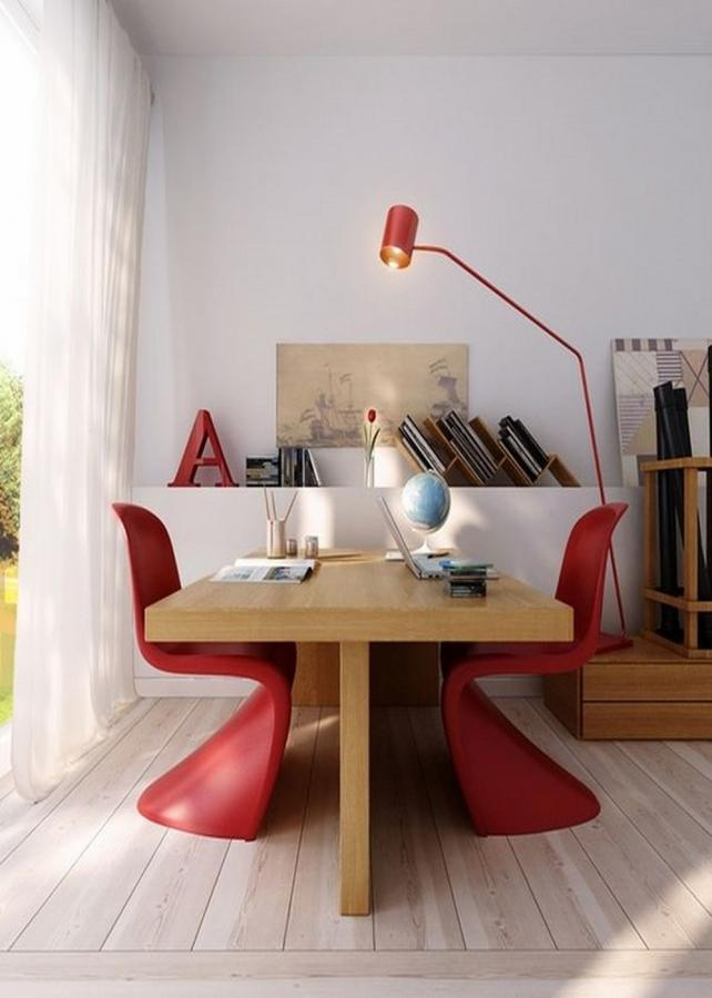 Scandinavian desk design