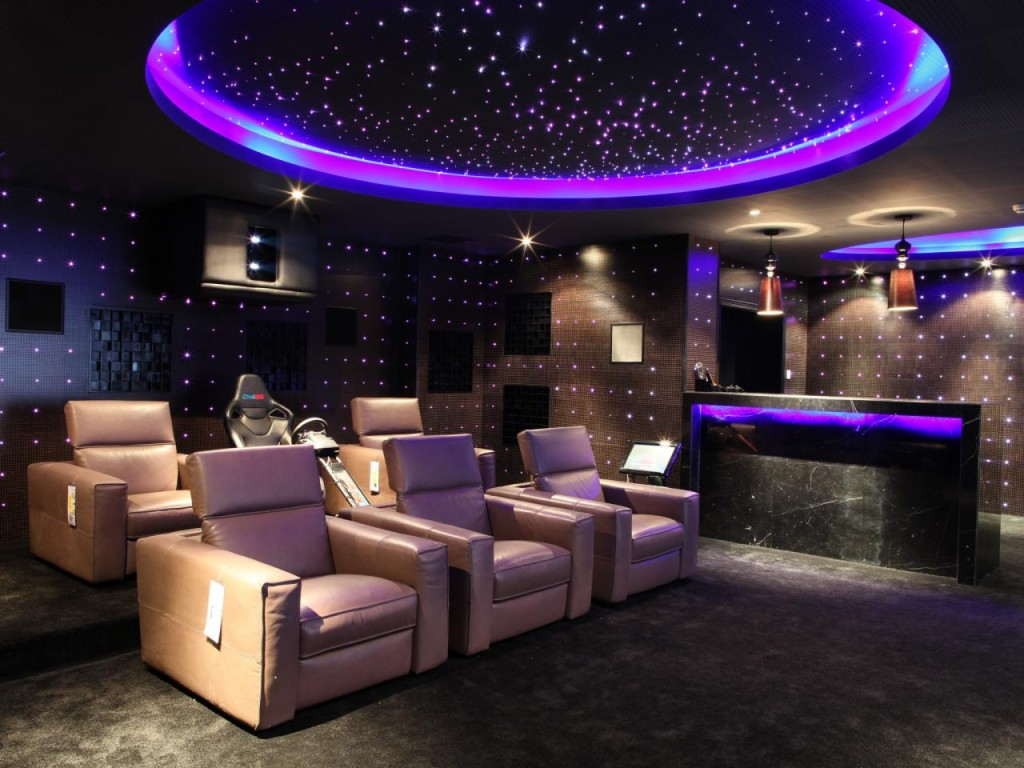 home theatre couch