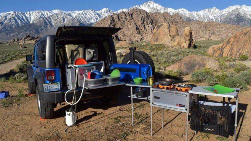 kitchens camping