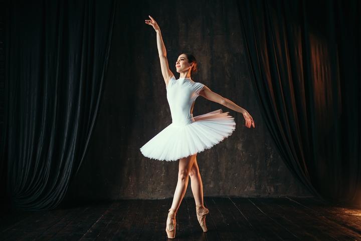 Contemporary dance ballet leotard