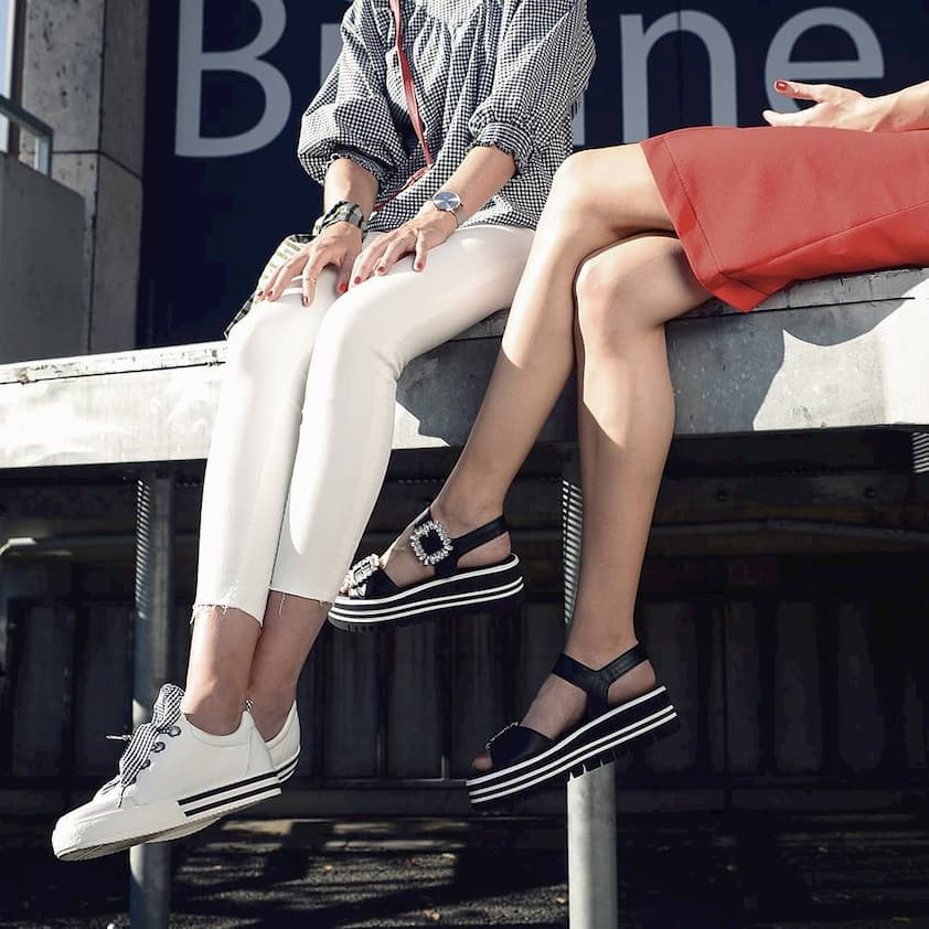 women wearing gabor shoes