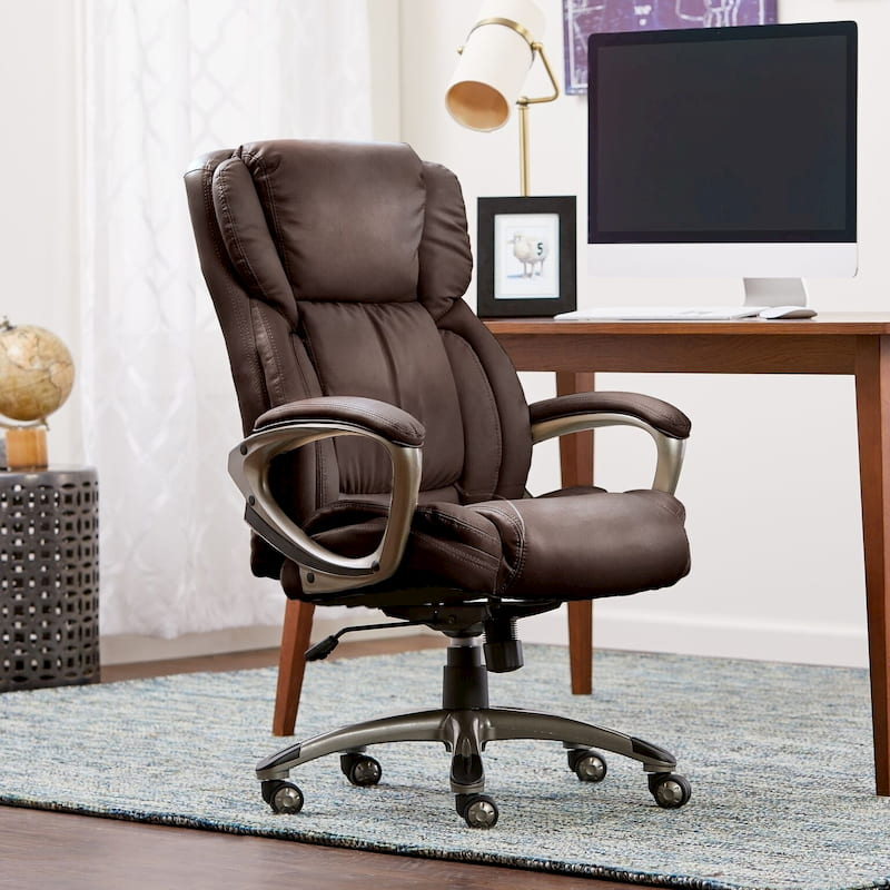 Serta leather office chair