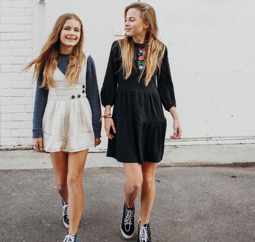 Teenage girl clothes