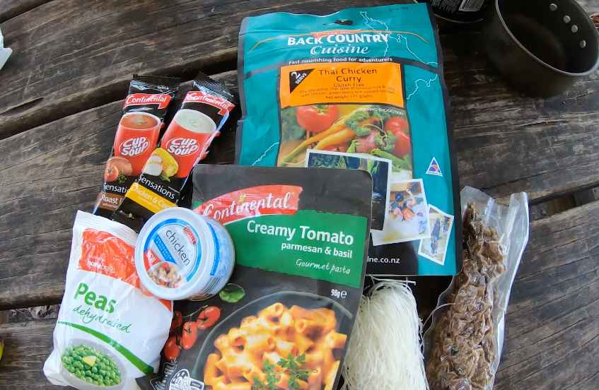 backpacking freeze dried meals